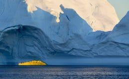 Icebergs Stock Image