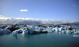 Icebergs, icebergs, icebergs Photo stock
