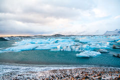 Icebergs - Iceland Royalty Free Stock Photo