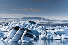 Icebergs in Iceland Stock Images