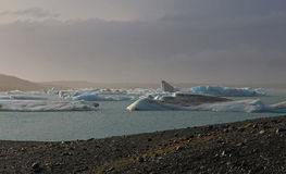 Icebergs In Iceland Royalty Free Stock Image