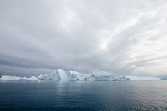 Icebergs in Ilulissat Stock Photos