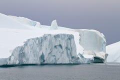Icebergs in Ilulissat Stock Image