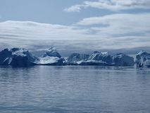 Icebergs Ilulissat south coast, Greenland. Stock Photo