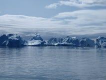 Icebergs Ilulissat south coast, Greenland. Icebergs at the mouth of Ilulissat Icefjord Stock Photo
