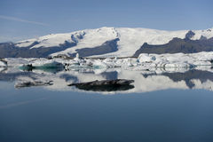 Icebergs, Joekulsarlon, Iceland Royalty Free Stock Images
