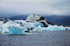 Icebergs Jokulsarlon de l'Islande Photos stock