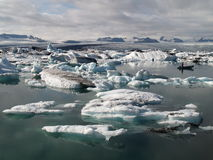 Icebergs in Jokulsarlon, Iceland Royalty Free Stock Photo