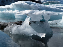 Icebergs in Jokulsarlon, Iceland Stock Photo