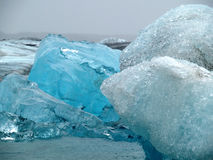 Icebergs in Jokulsarlon, Iceland Royalty Free Stock Photography