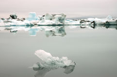 Icebergs in Jokulsarlon, Iceland Stock Photos