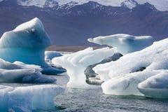 Icebergs - Jokulsarlon - Iceland royalty free stock photography