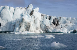 Icebergs - Jokulsarlon - Iceland Stock Image