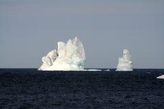 Icebergs Melrose. Iceberg off the coast of Newfoundland royalty free stock images