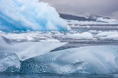 Free Icebergs Melting In Antarctic Waters Stock Photography - 140808802