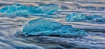 Icebergs minuscules Images stock