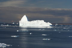 Icebergs off Greenland Royalty Free Stock Photos
