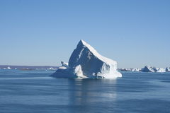 Icebergs off Greenland Stock Photography