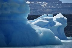 Icebergs in the Perito Moreno glacier, stock photo