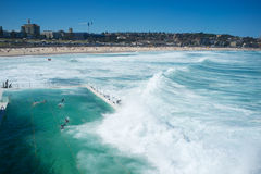 The Icebergs Pool, Bondi Beach, Sydney , Australia Stock Photography