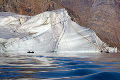 Icebergs - Scoresbysund - Greenland Stock Photo