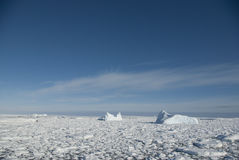 Icebergs in the Southern Ocean - 3. Stock Photos