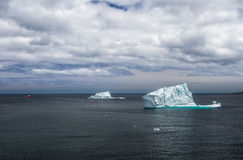 icebergs in St. John& x27;s, Newfoundland royalty free stock photo
