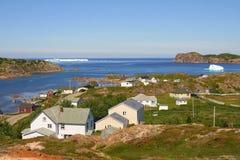 Icebergs Twillingate photo libre de droits
