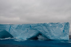 Icebergs in the Weddell Sea Stock Photo