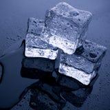 Ice Block. Three pieces of ice ready to use Stock Photo