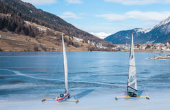 Iceboats Stock Photo