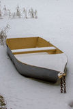 Icebound шлюпка Стоковое Изображение RF