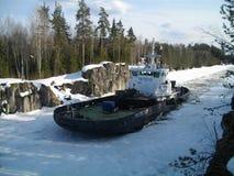 Icebracker ochraniacz Fotografia Stock