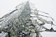 Icebrakersleep Stock Afbeelding