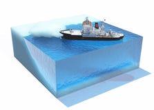 icebreaker vektor abbildung