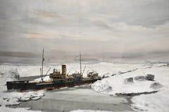 Icebreaker aan het Noorden Stock Afbeelding