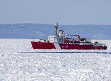 Icebreaker Louis St Laurent Stock Photos