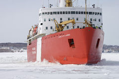 Icebreaker Louis St Laurent Royalty Free Stock Images