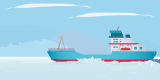 Icebreaker Stock Photography