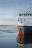Icebreaker ship Stock Images