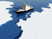 Icebreaker Stock Image