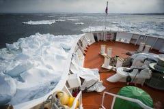 Icebreaker van Abashiri Stock Afbeeldingen