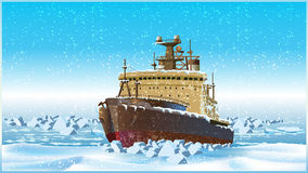 Icebreaker Royalty Free Stock Images