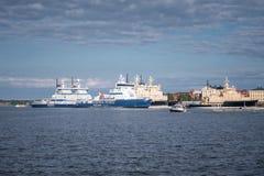 Icebreaker vloot van Finland royalty-vrije stock foto