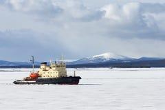 Icebreaker Royalty Free Stock Photo