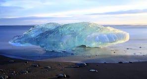 Iceburg Sunset Royalty Free Stock Photography