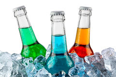 Icecold drinkar Arkivbild