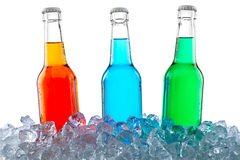 Icecold drinkar Arkivfoton
