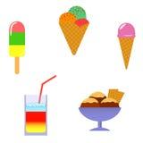 icecream stock illustrationer