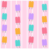 Icecream background icon great for any use. Vector EPS10. Stock Images